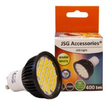 GU10 LED Bulb  5.5W Spot Lamps with 27 x 5050 SMD chips in WARM WHITE = 50W - 60W Halogen